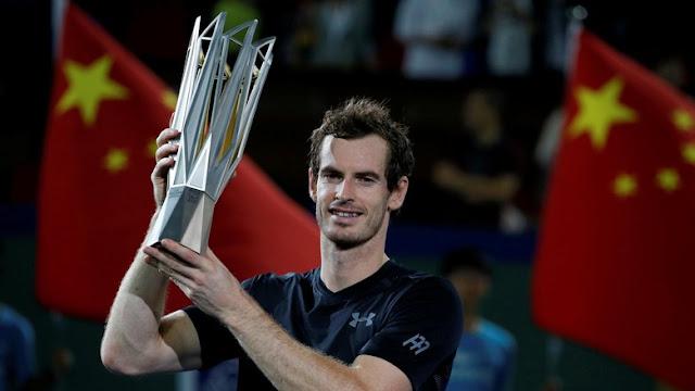 Juara Shanghai Masters, Murray Makin Dekat ke Djokovic