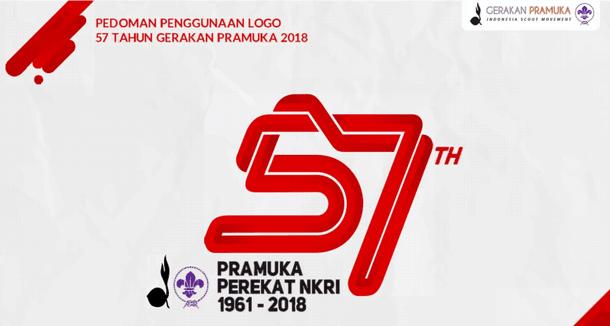 Tema dan Logo Hari Pramuka Ke 57 Tahun 2018