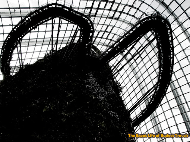 bowdywanders.com Singapore Travel Blog Philippines Photo :: Singapore :: Gardens By The Bay - Cloud Forest
