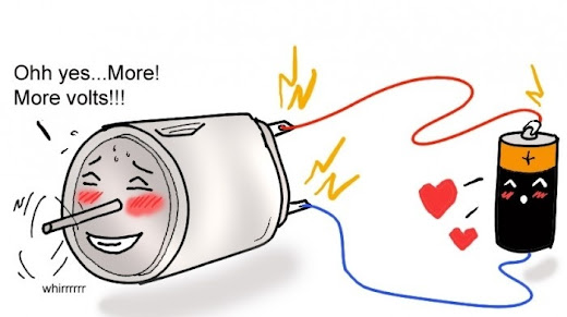 More Volts. HUMOR casi INTELIGENTE