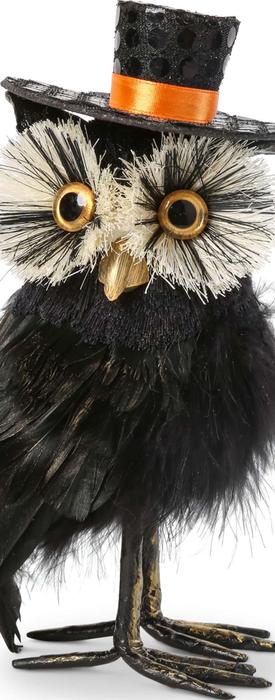 K & K INTERIORS Owl Statue
