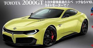 トヨタ 2000GTが復活するかもしれない 予想画像