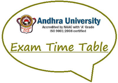 AUCOE Time Table 2020