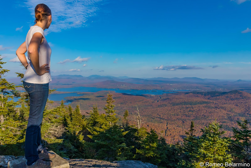 Big Moose Mountain Summit Maine Hiking Moosehead Pinnacle Pursuit