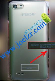 bypass frp Evercoss R45 solved