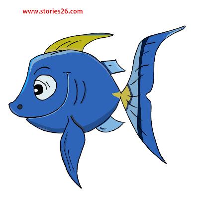 قصص اطفال للنوم | قصة مغامرة السمكة لولو الشقية