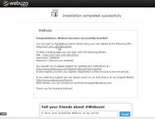 Tutorial cara install webuzo di vps centos