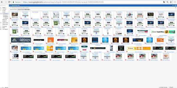 Memblokir Iklan Google Adsense di Pusat Peninjauan iklan