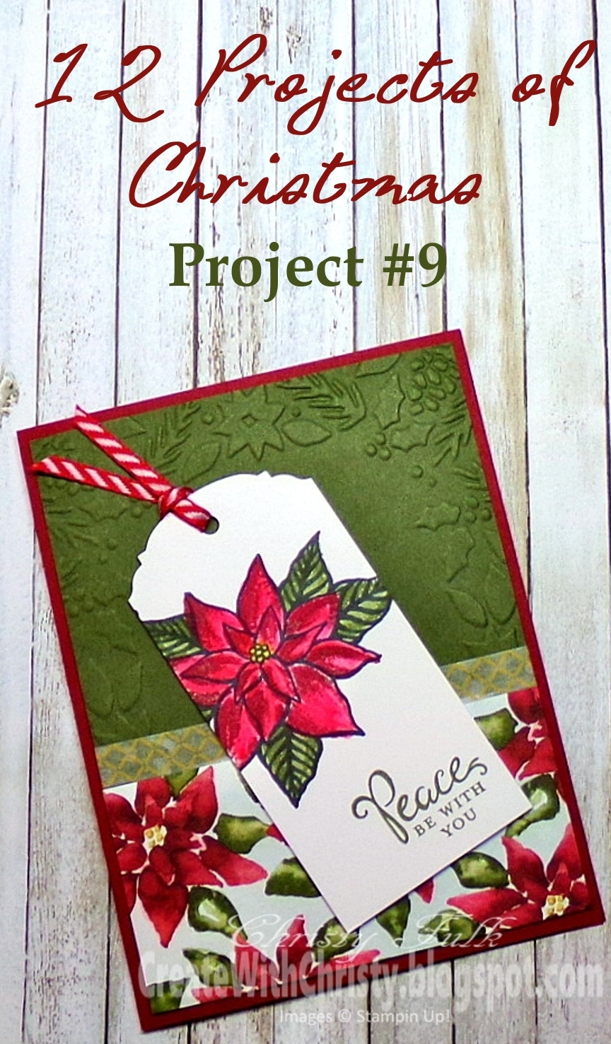 Create With Christy 12 Projects Of Christmas Project 9