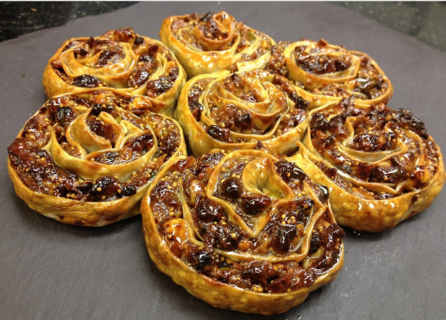 Pitta N'Chiusa or Spring Dessert