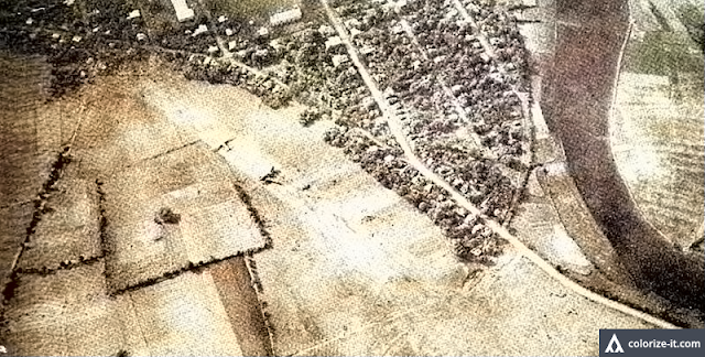The Nasugbu Airstrip after the town's liberation from Japanese occupation.