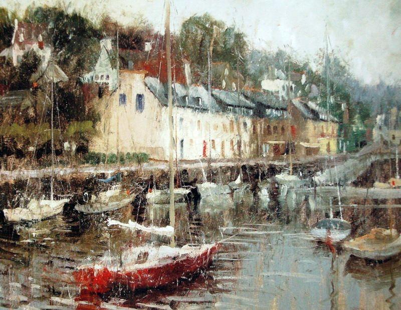 Charles Warren Mundy 1945 | American Impressionist painter