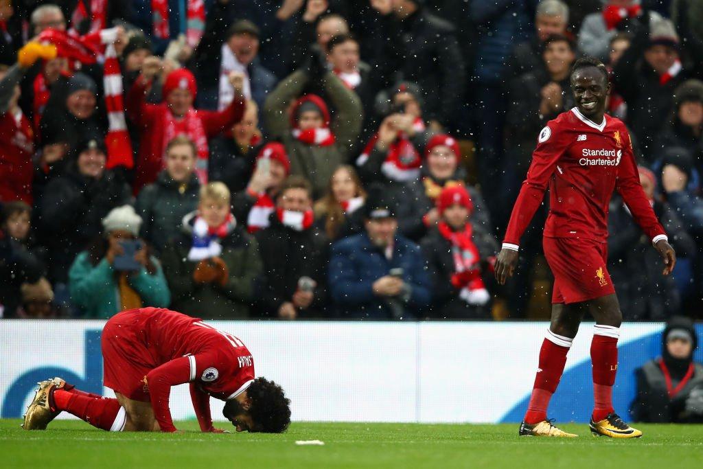 فيديو مباشر مباراة ليفربول وايفرتون 10-12-2017 الدوري الانجليزي , محمد صلاح يسجل بمجهود فردى رائع