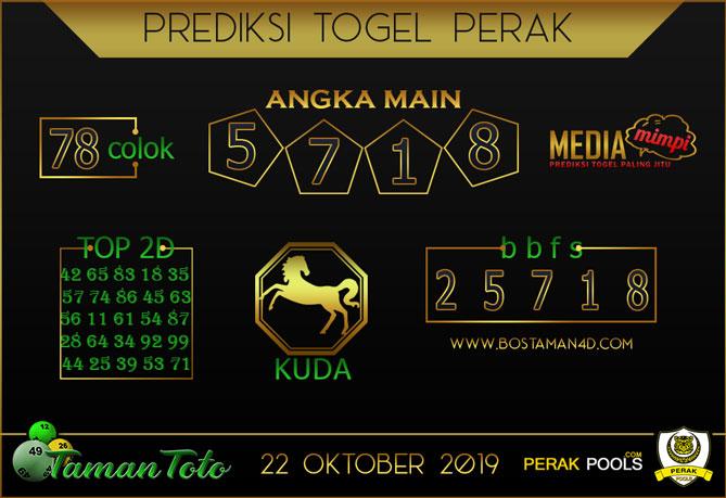 Prediksi Togel PERAK TAMAN TOTO 22 OKTOBER 2019