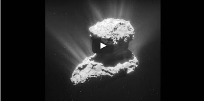 Key ingredients of life have been-detect in Comet 67P's atmosphere