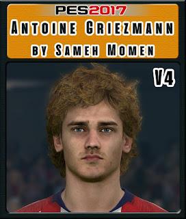 PES 2017 Faces Antoine Griezmann by Sameh Momen