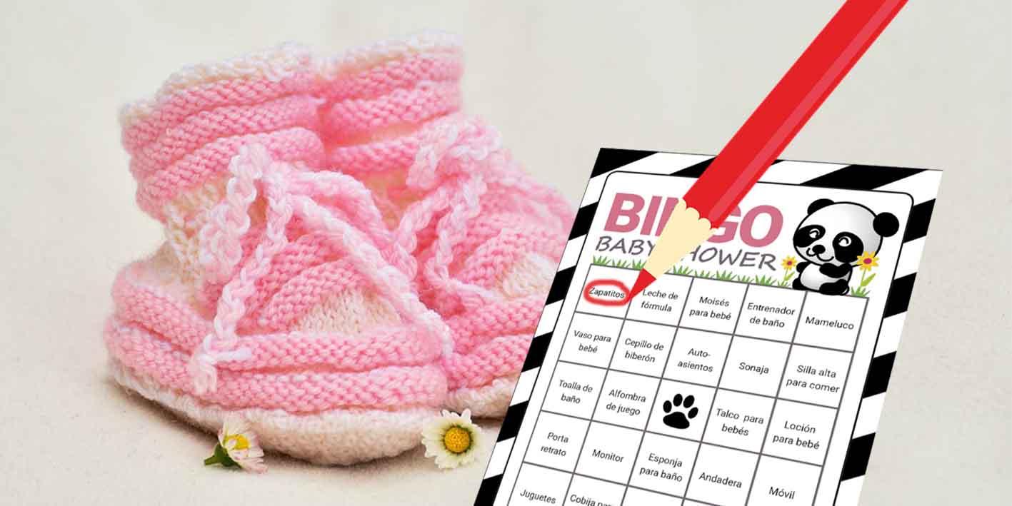 Baby Shower Juegos Modernos ~ Bingo para baby shower juegos de baby shower