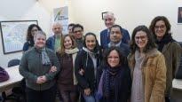 Associação Gaúcha de Audiodescritores (Agade): Audiodescritores reunidos com o presidente da Faders Acessibilidade e Inclusão, Roque Bakof