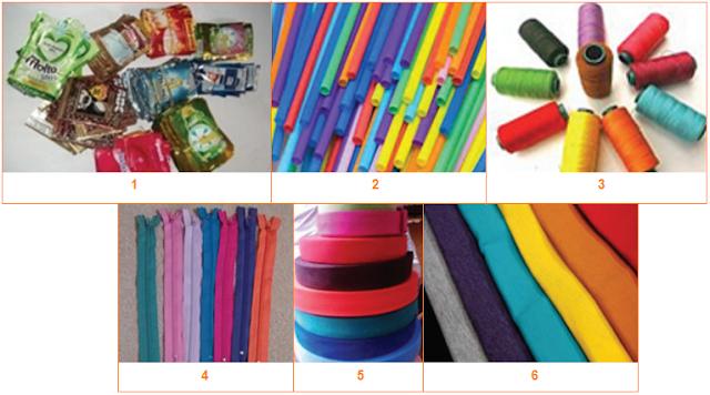 Contoh 6 Bahan Kerajinan Limbah Plastik
