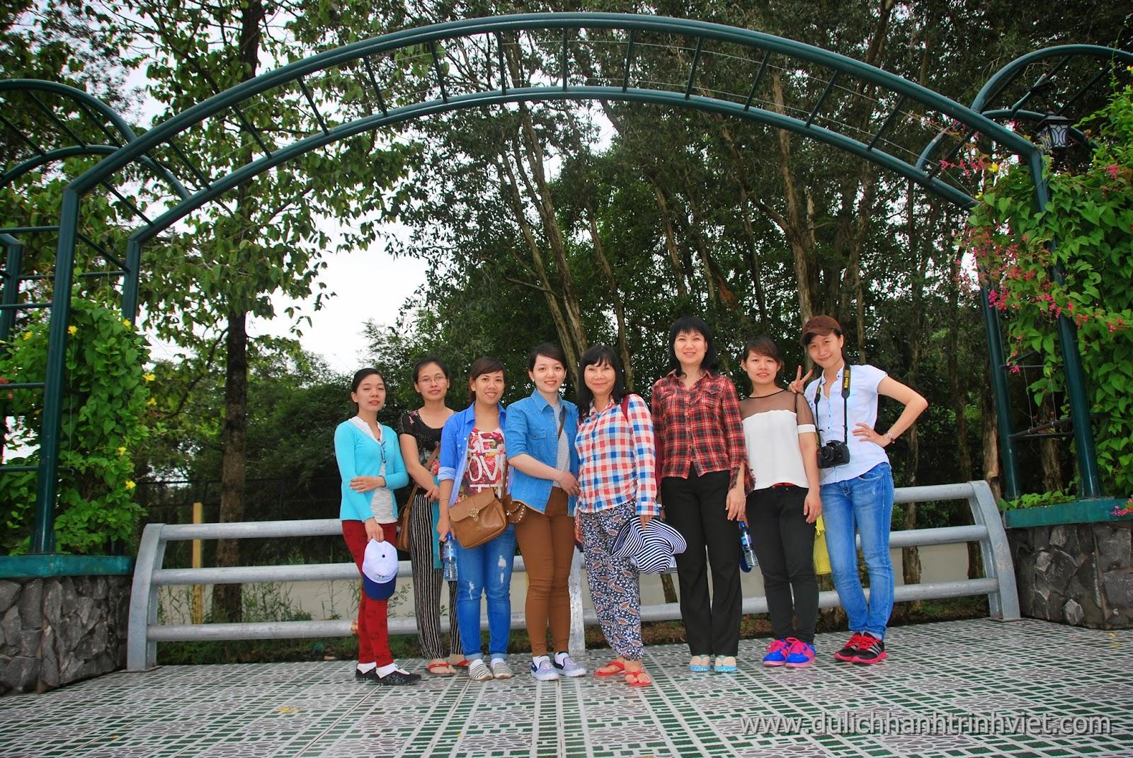 HTV tham quan Lâm Viên Cà Mau 2014