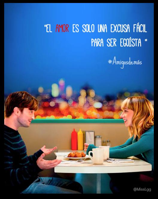 El amor es solo una excusa fácil para ser egoísta - What if / Amigos de más / The F word quotes frases Daniel Radcliffe