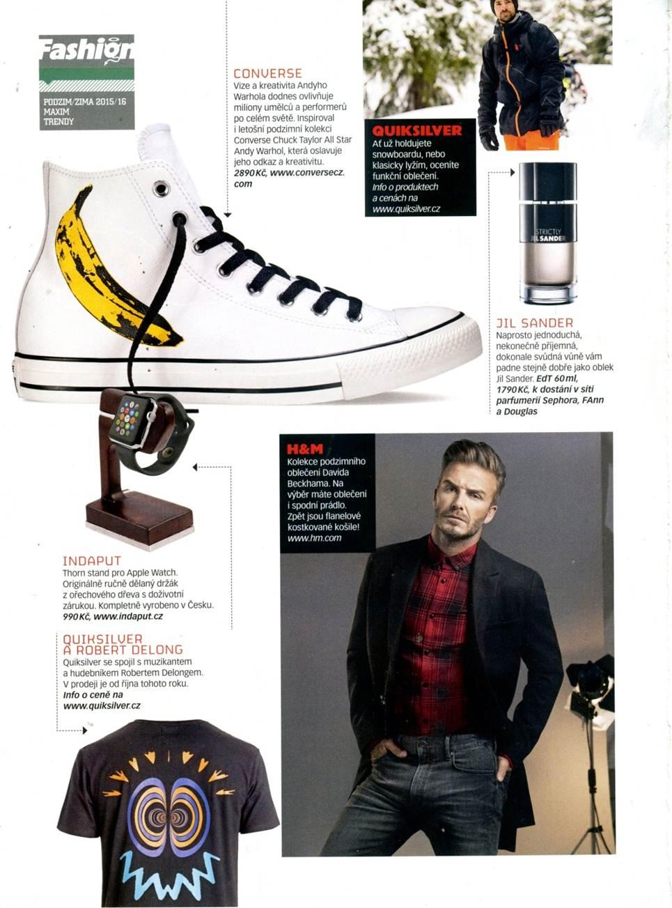 PR Quiksilver Inc.  Maxim magazine highlights Quiksilver x Robert ... cd93f5470a