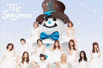 [Lirik+Terjemahan] E-girls - Mr.Snowman (Manusia Salju)