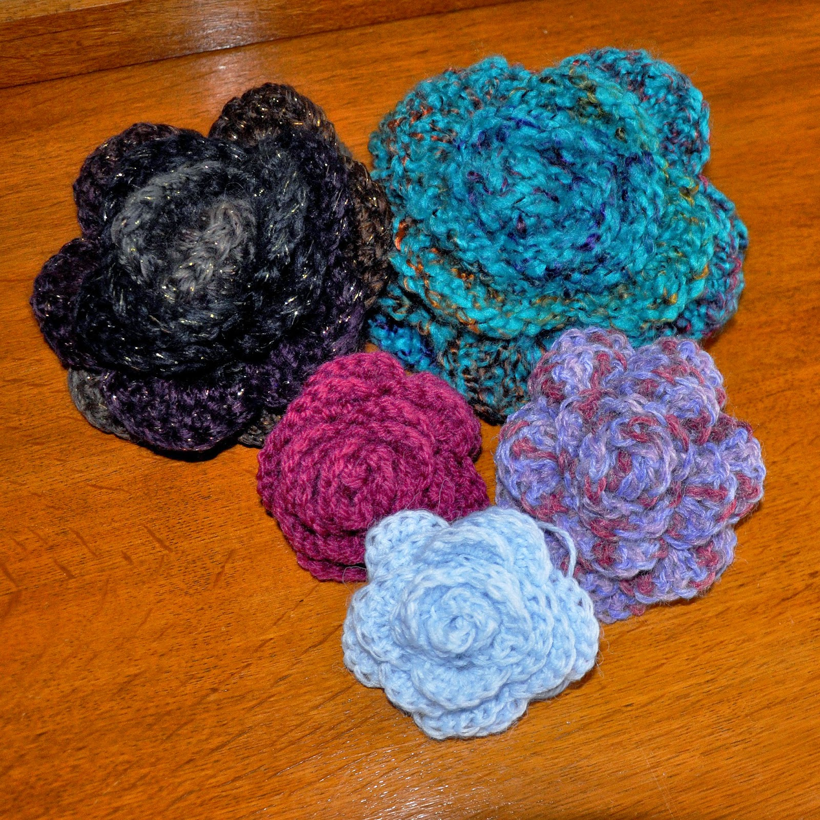 Free Flower Crochet Patterns Online | Gardening: Flower and Vegetables