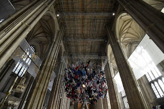 Από τη Μυτιλήνη «κρεμάστηκαν» στον καθεδρικό του Κάντερμπερι (pics)
