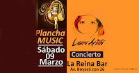 Concierto de Laura Arista ¡Música a la plancha! | La Reina Bar