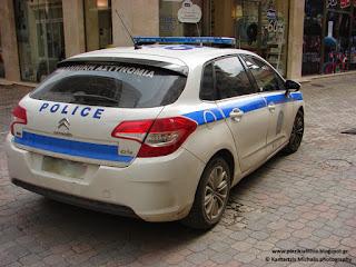 Συλλήψεις για κλοπή στην Πιερία