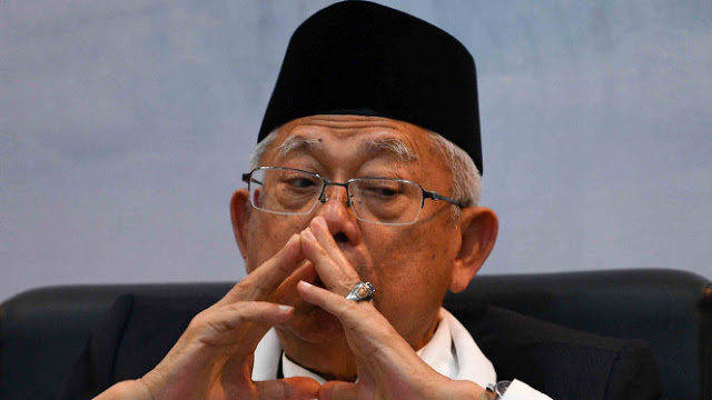 Ma'ruf Amin Gagal Dongkrak Elektabilitas Jokowi di Mata Umat