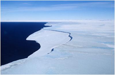 ghiaccio marino nel mare di Ross