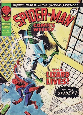 Spider-Man Comics Weekly #92, the Lizard