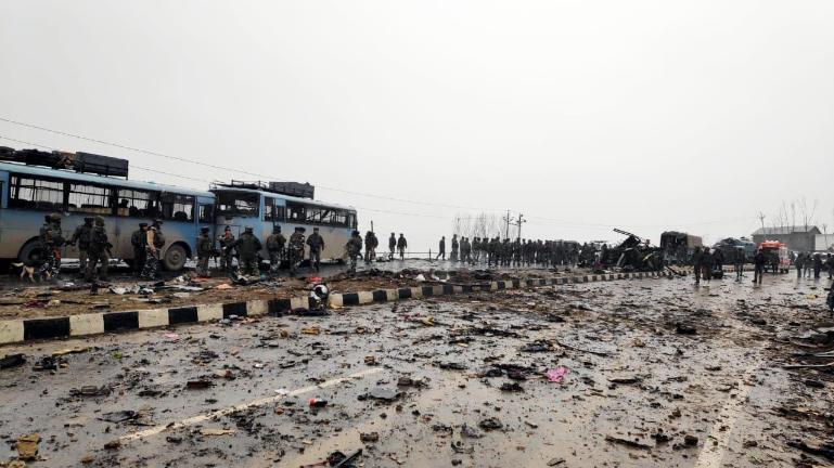 30 CRPF jawans killed in IED blast in Kashmir's Pulwama