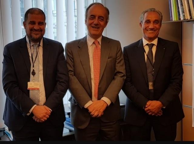 فؤاد قديري  يجتمع ببرلمانيين أوربيين ببروكسيل حول التعاون المغربي الأوربي