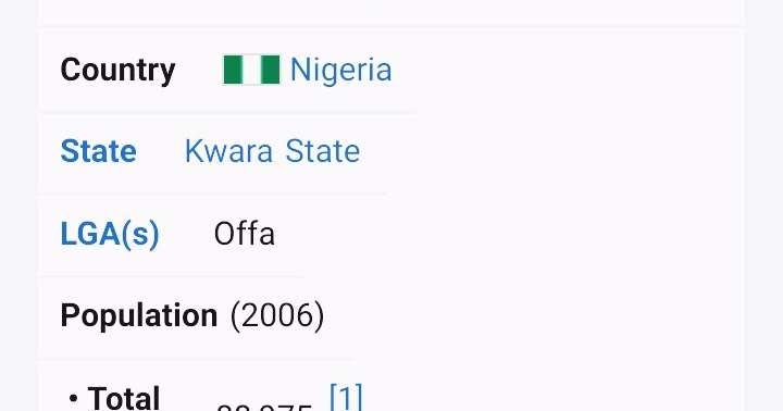 LEARN MORE ABOUT OFFA KWARA STATE NIGERIA
