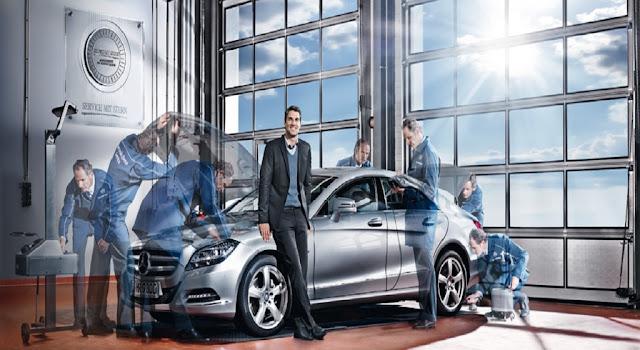 Đội ngũ kiểm tra sửa xe Mercedes giàu kinh nghiệm tại Mercedes Trường Chinh