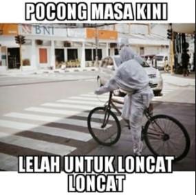 Pocong Udah Capek Loncat