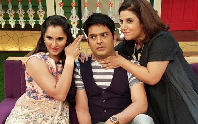 Popular comedian Kapil Sharma  met his match in Sania Mirza and Farah Khan, who whipped up some girl power to leave him speechless.   Appearing on The Kapil Sharma Show, Sania Mirza and Farah Khan took charge immediately. They interrupted, corrected his accent and ensured that all his jokes boomeranged.