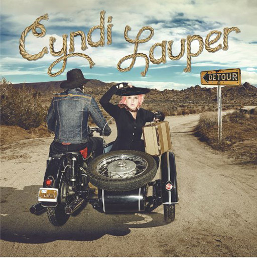 Music icon and LGBT ally Cyndi Lauper goes country with her latest album, DETOUR