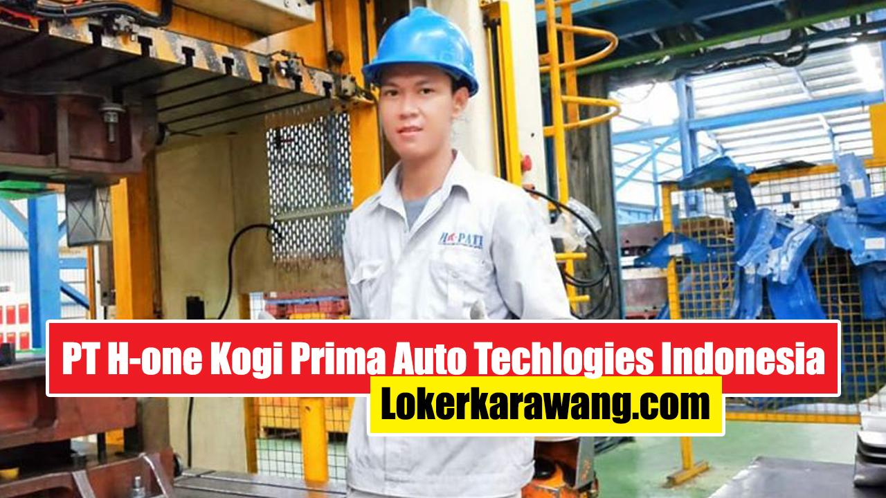 PT. H-One Kogi Prima Auto Technologies Indonesia Karawang