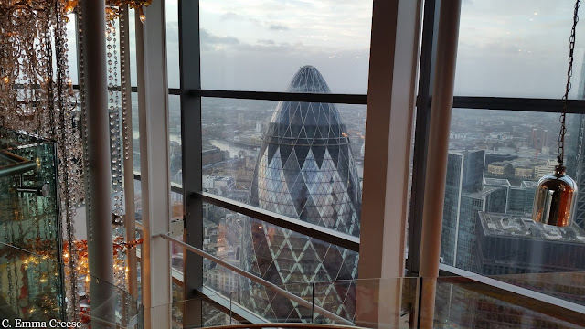 Luxury brunch at Duck and Waffle London Restaurant Review