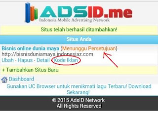 adsid 6amgp Cara mendapatkan Pulsa gratis dari Internet dengan AdsID.me