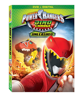 DVD Review - Saban's Power Rangers Dino Charge: Unleashed