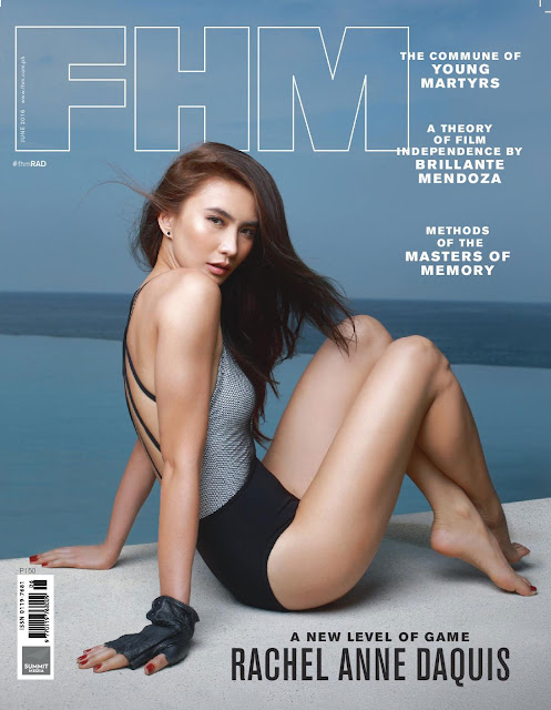 Rachel Ann Daquis on the cover of FHM's June 2016 issue
