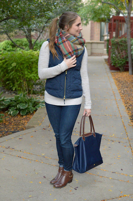 what to wear with a blanket scarf