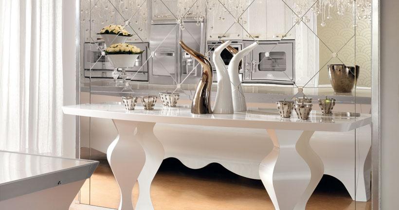Tradici n artesana con innovaci n tecnol gica cocinas con estilo ideas para dise ar tu cocina - Cocinas clasicas blancas ...
