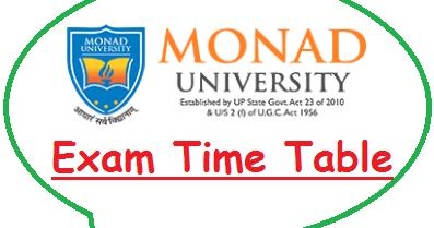 Monad University Data Sheet 2021