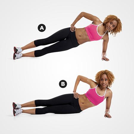 Cách giảm mỡ hông và eo hiệu quả bằng các bài tập